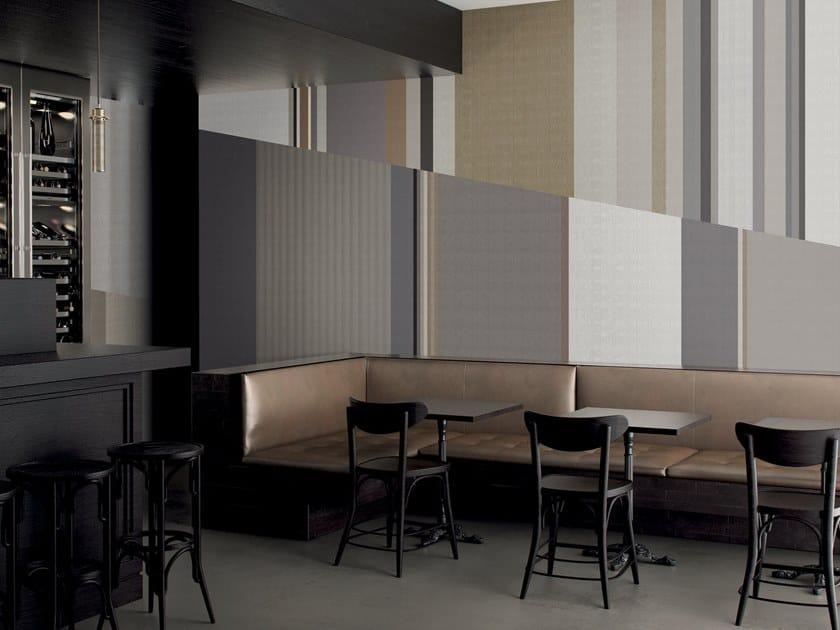 Striped wallpaper MIRROR by GLAMORA