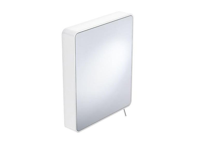 Swivel rectangular wall-mounted mirror SYSTEM 800 | Mirror by HEWI