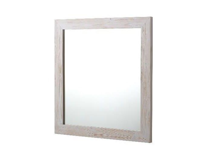 Wall-mounted bathroom mirror Mirror by Horganica