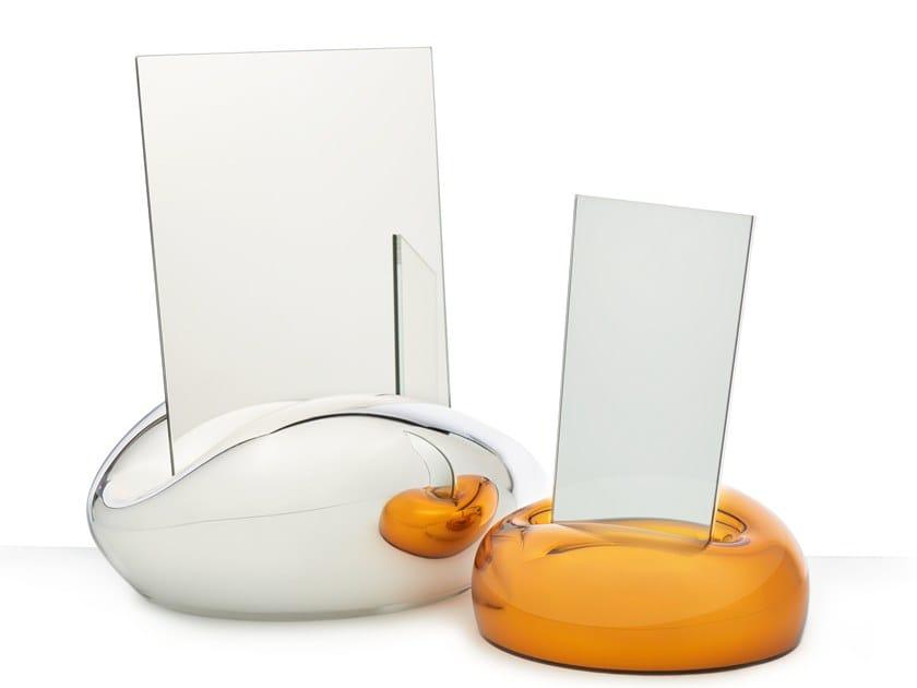Glass mirror MIRROR KISS by Lasvit