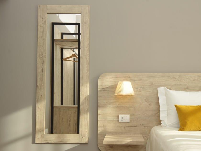 Rectangular framed mirror URBAN | Mirror by Mobilspazio