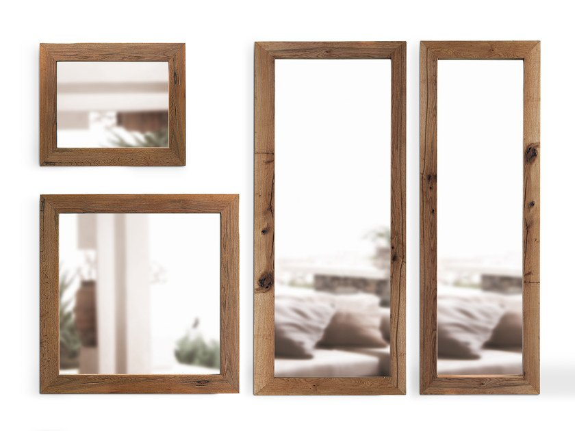 Wall-mounted framed mirror MIRRORS | Mirror by Oliver B.