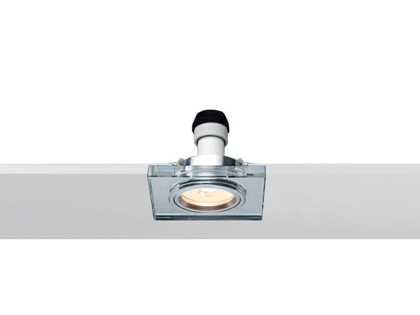 LED square recessed spotlight MIRROR | Square spotlight by Rossini Illuminazione