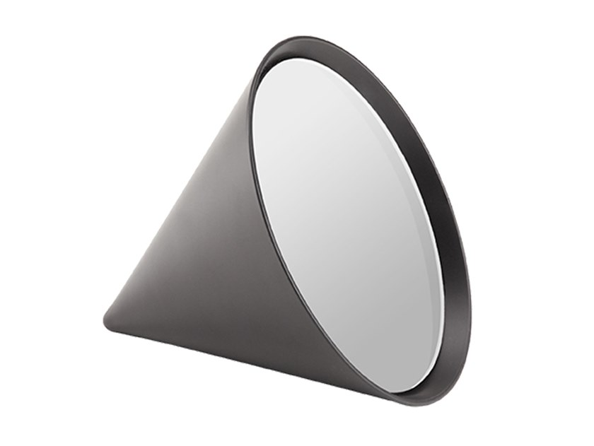 Countertop round framed mirror CONE | Mirror by ZENS Lifestyle