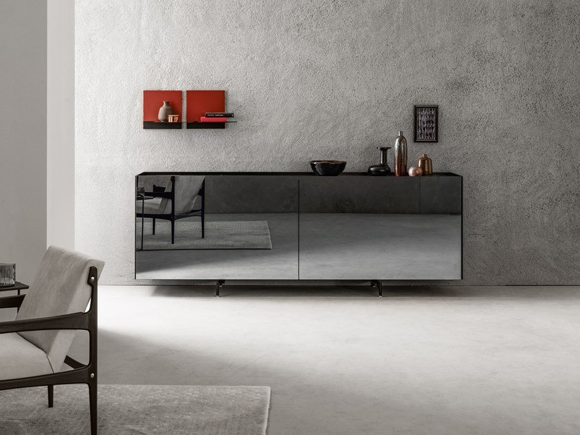 ATELIER | Sideboard aus Glasspiegel Kollektion Atelier By ...
