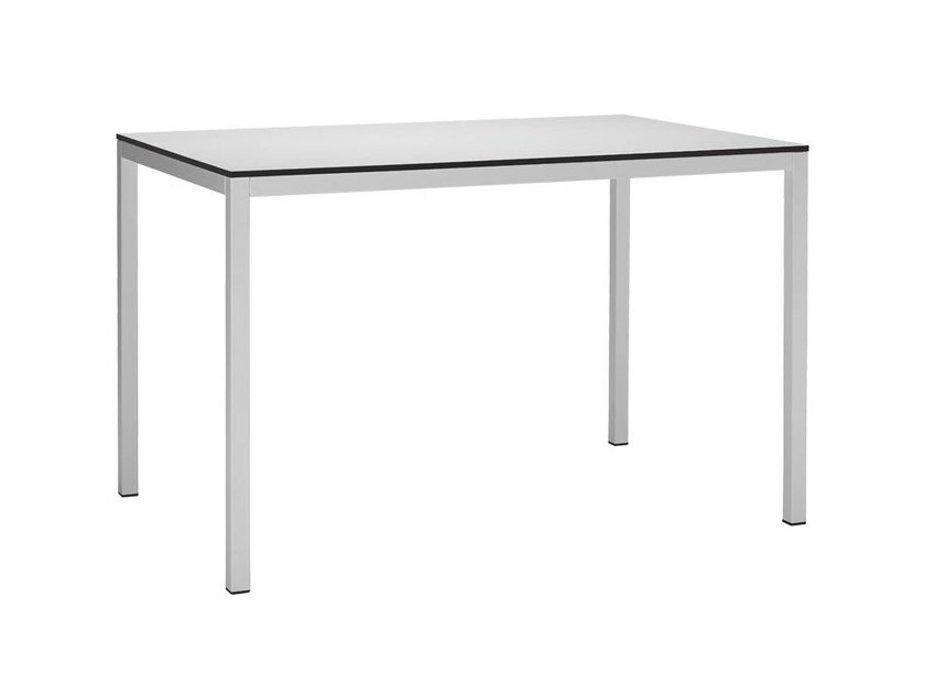 Rectangular powder coated steel table MIRTO | Rectangular table by SCAB DESIGN
