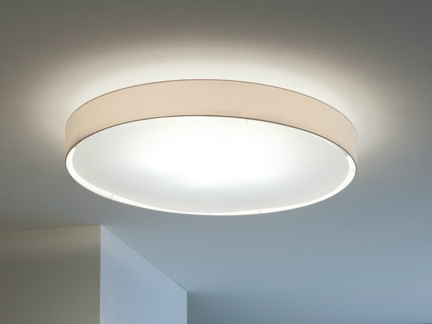 LED fabric ceiling light MIRYA | Ceiling light by Lucente