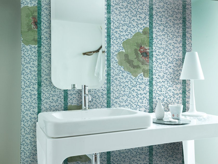 Wallpaper with floral pattern MISS MARPLE by Wall&decò