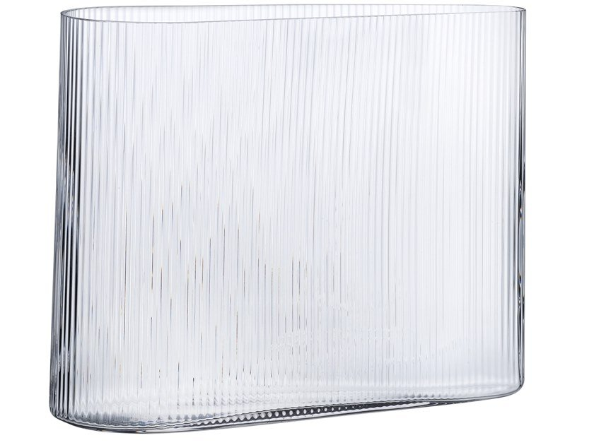 Crystal vase MIST WIDE by NUDE