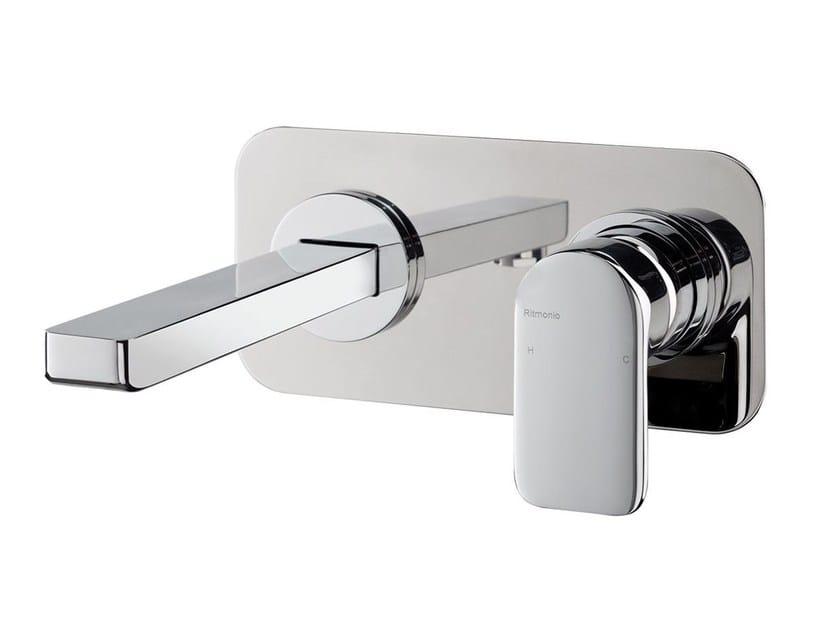 Wall-mounted washbasin mixer MISTERY | Wall-mounted washbasin mixer by RITMONIO