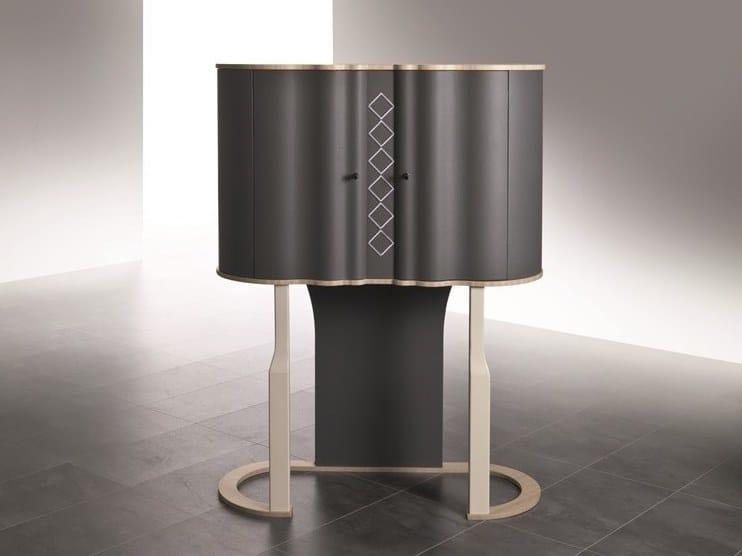 Wooden bar cabinet MISTRAL   Wooden bar cabinet by Carpanelli