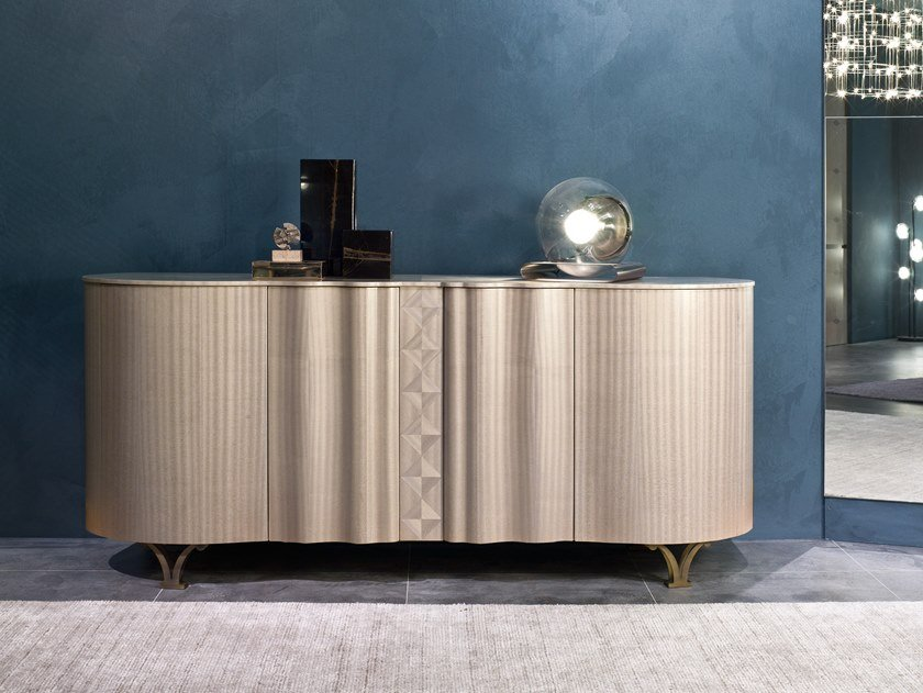 Sideboard with doors MISTRAL | Wooden sideboard by Carpanelli