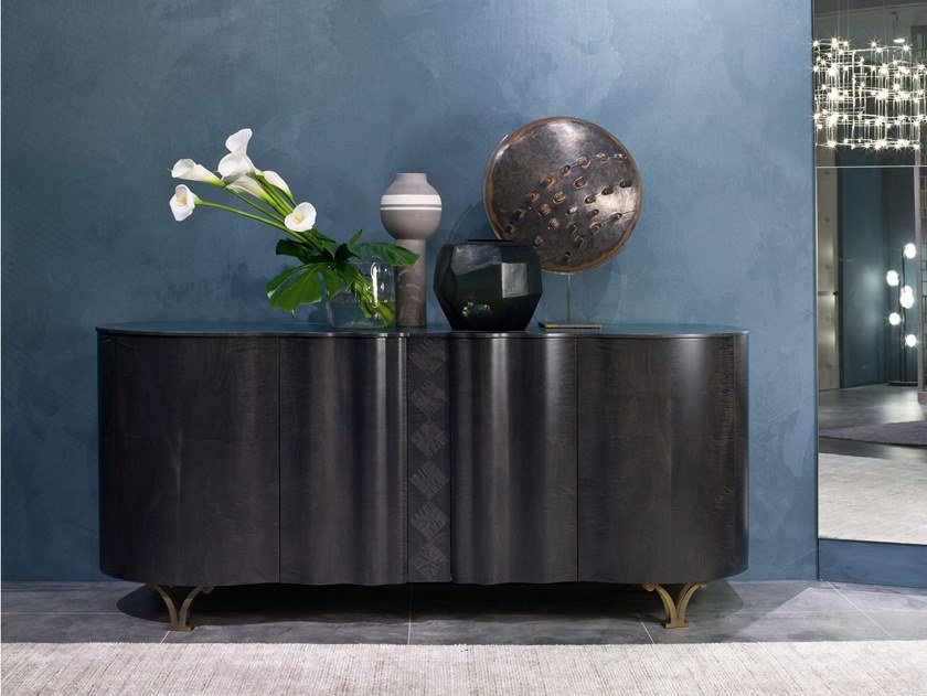 Sideboard with doors MISTRAL CR62B by Carpanelli Contemporary