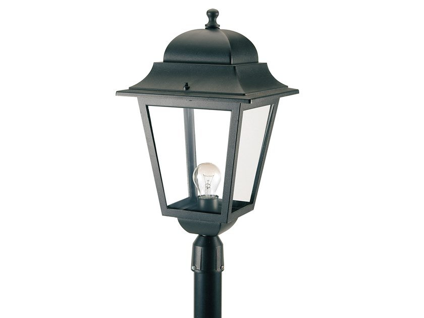 Lantern die cast aluminium garden lamp post MITO 872 by SOVIL