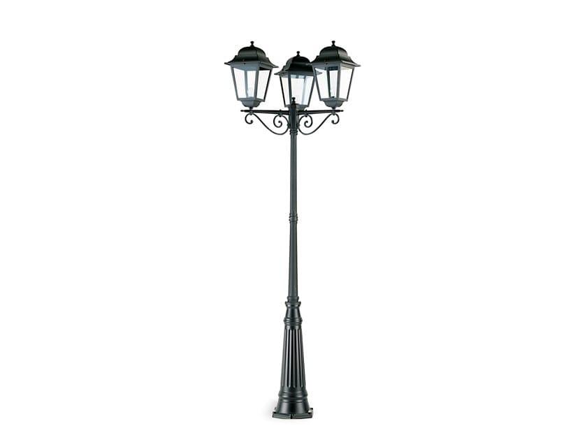 Lampione da giardino a lanterna in alluminio pressofuso MITO 986 by SOVIL