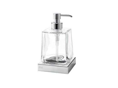 Glass liquid soap dispenser MITO | Liquid soap dispenser by INDA®