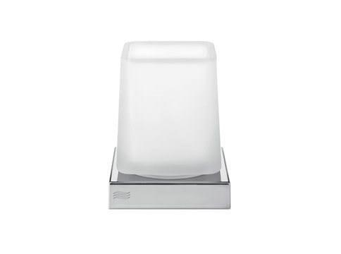 Portaspazzolino in vetro MITO | Portaspazzolino in vetro by INDA®