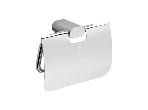 Chromed brass toilet roll holder MITO | Toilet roll holder by INDA®