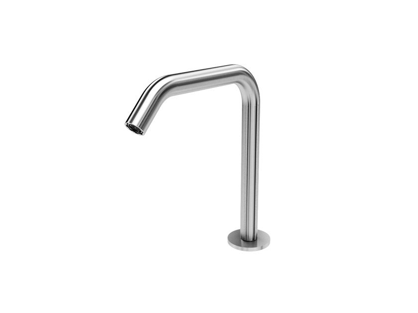 Stainless steel washbasin spout MIX&MATCH BBMI.Y by Water Evolution