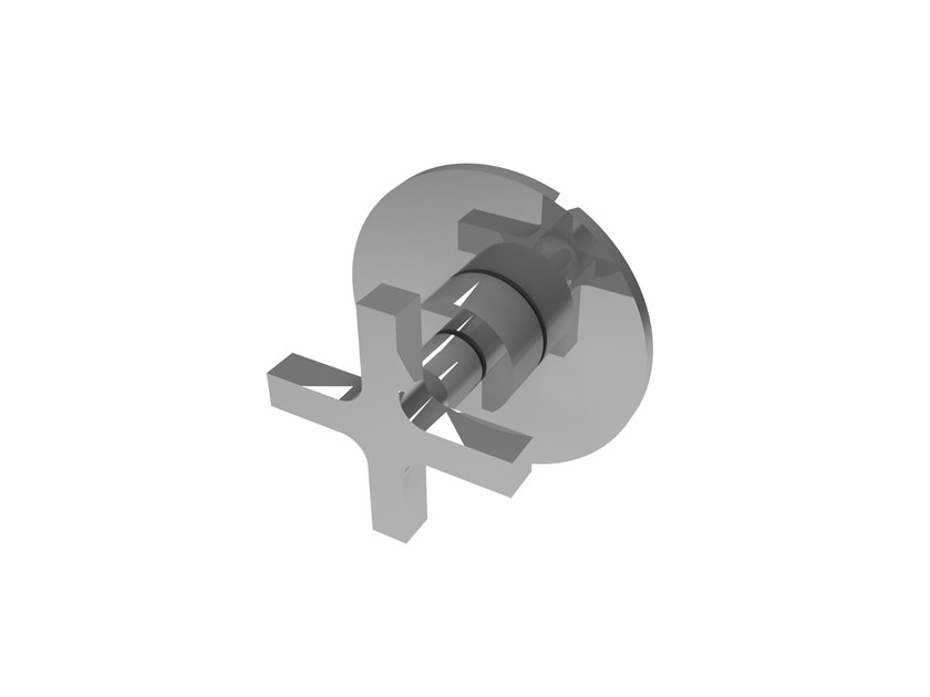 Wall-mounted chromed handle MIX&MATCH MPMI.C.1T by Water Evolution