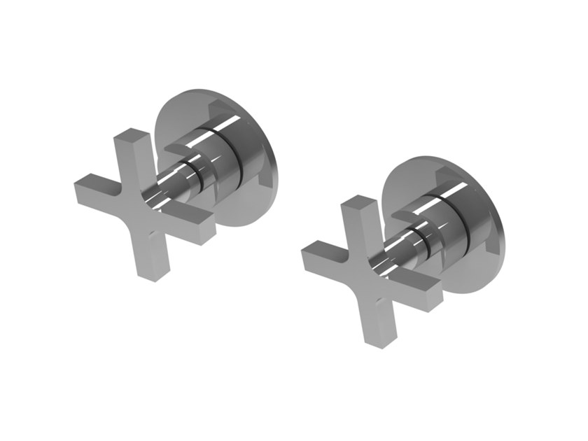 Wall-mounted chromed handle MIX&MATCH MPMI.C.2 by Water Evolution
