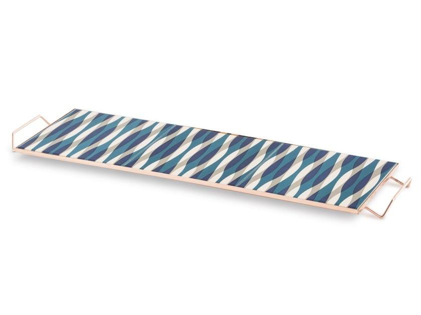 Vassoio rettangolare in alluminio MIX&MATCH | Vassoio rettangolare by GAN