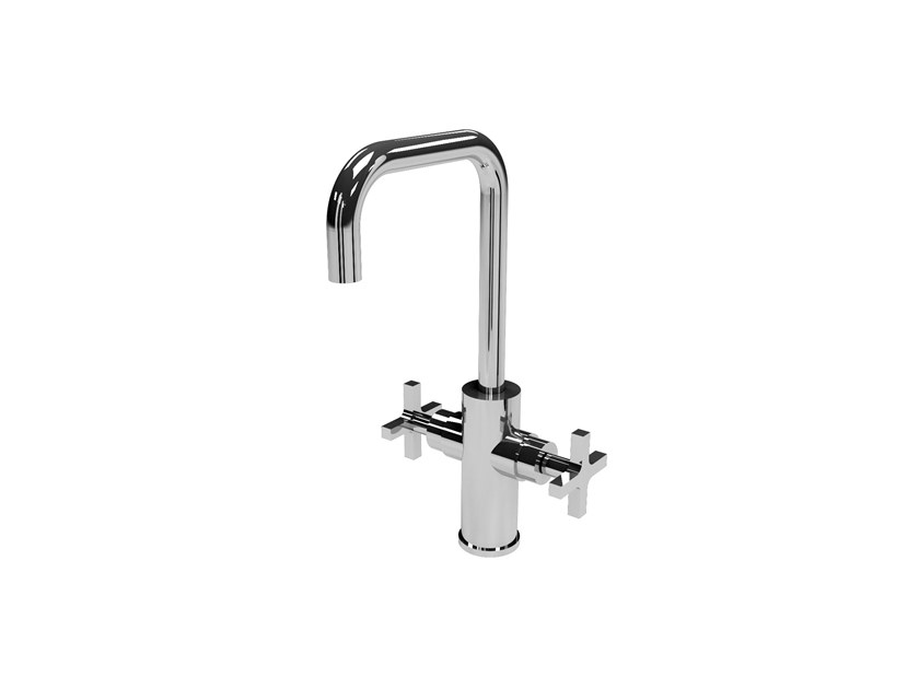 Chromed brass washbasin tap MIX&MATCH TMI.C.2M.H by Water Evolution
