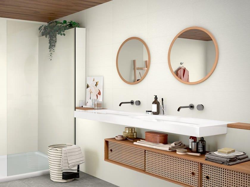 Indoor ceramic wall tiles MIX RELIEFS by Revigrés