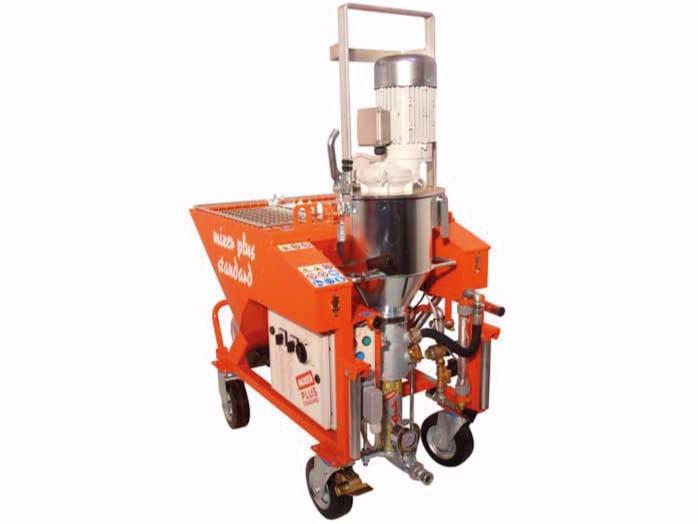 Plastering machine MIXER PLUS STANDARD E TOP by malvin