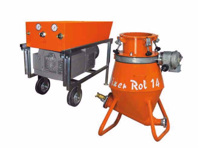 Plastering machine MIXER ROL 14 by malvin