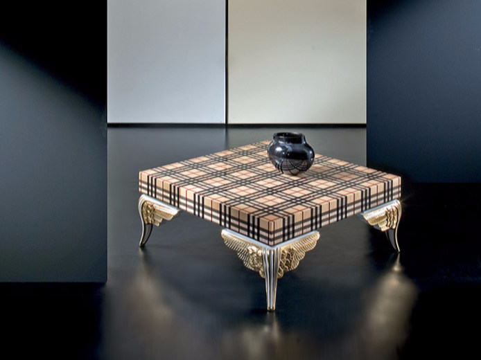 Low lacquered square coffee table MK150 | Coffee table by Rozzoni