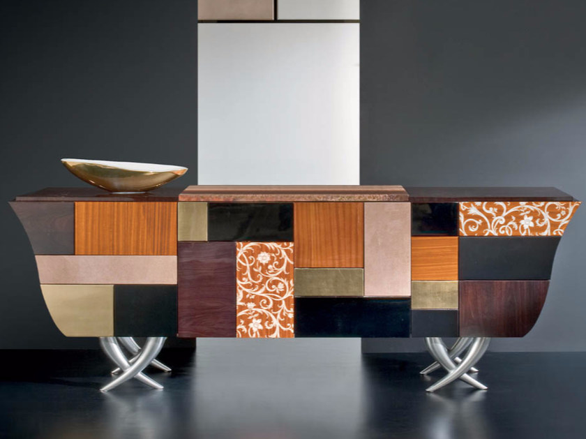 Lacquered sideboard with drawers MK159 | Sideboard by Rozzoni