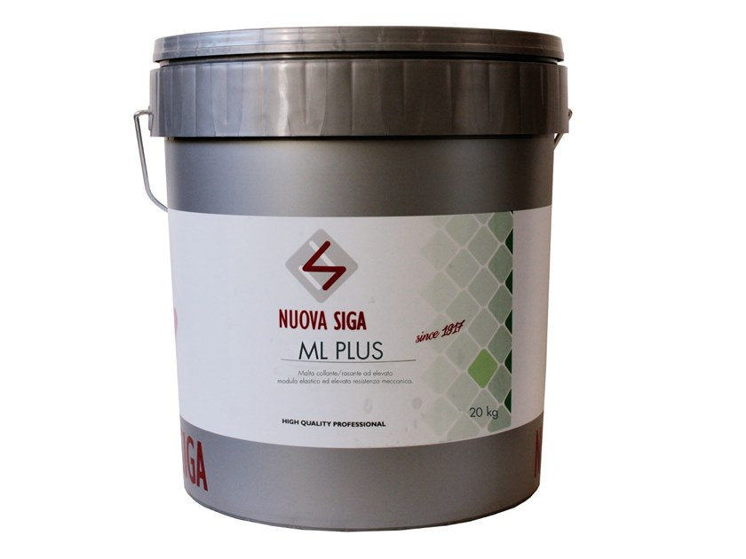 Thermo insulating mortar ML1 by Nuova Siga