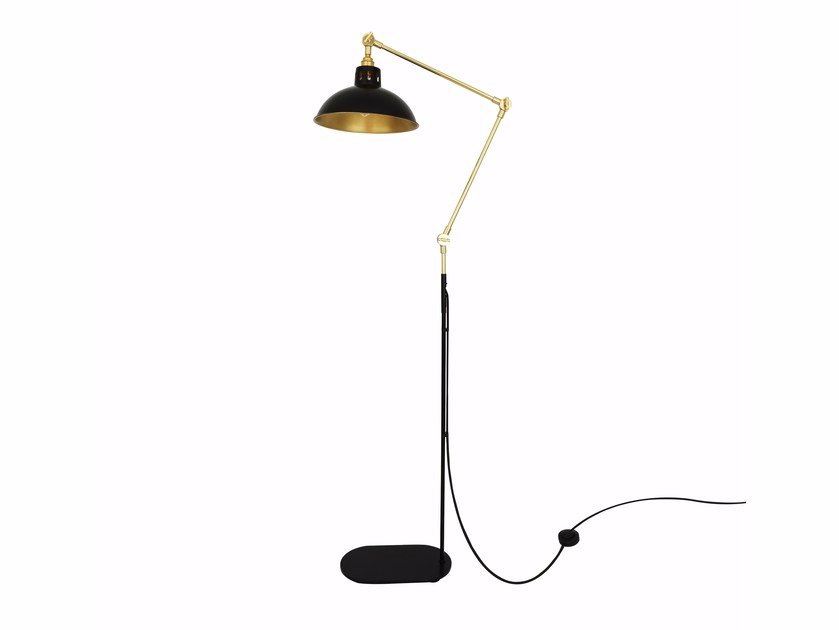 Adjustable floor lamp senglea by mullan lighting
