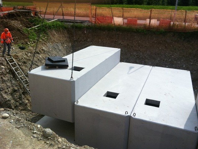 Basin, cistern and tank for water works MNB-I by Betoncablo