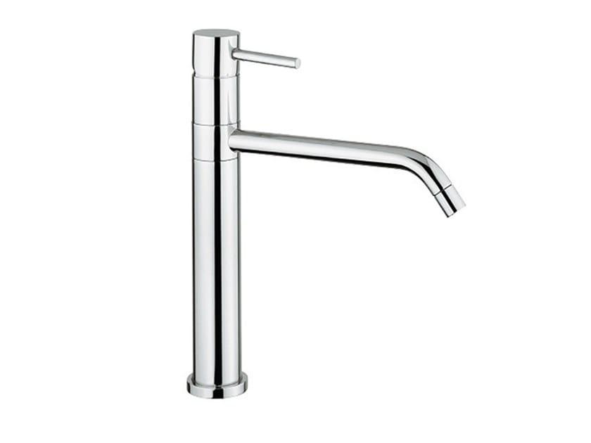 Countertop kitchen mixer tap with swivel spout FUTURO - F6516 by Rubinetteria Giulini