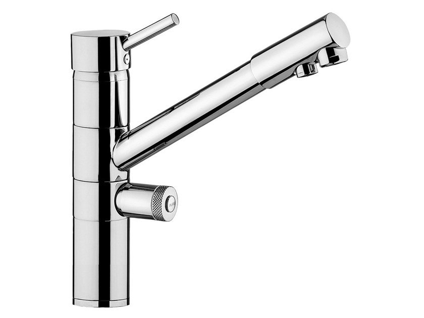 Triflow single handle kitchen mixer tap water purification tap FUTURO  - FMAS02 by Rubinetteria Giulini