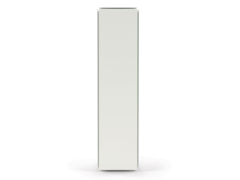 Kleiderschrank aus Aluminium strangpresst mit 1 Tür MOBILE ZERO ...