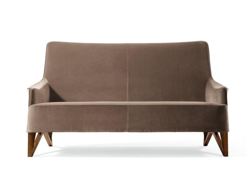 Fabric small sofa MOBIUS | Fabric small sofa by GIORGETTI