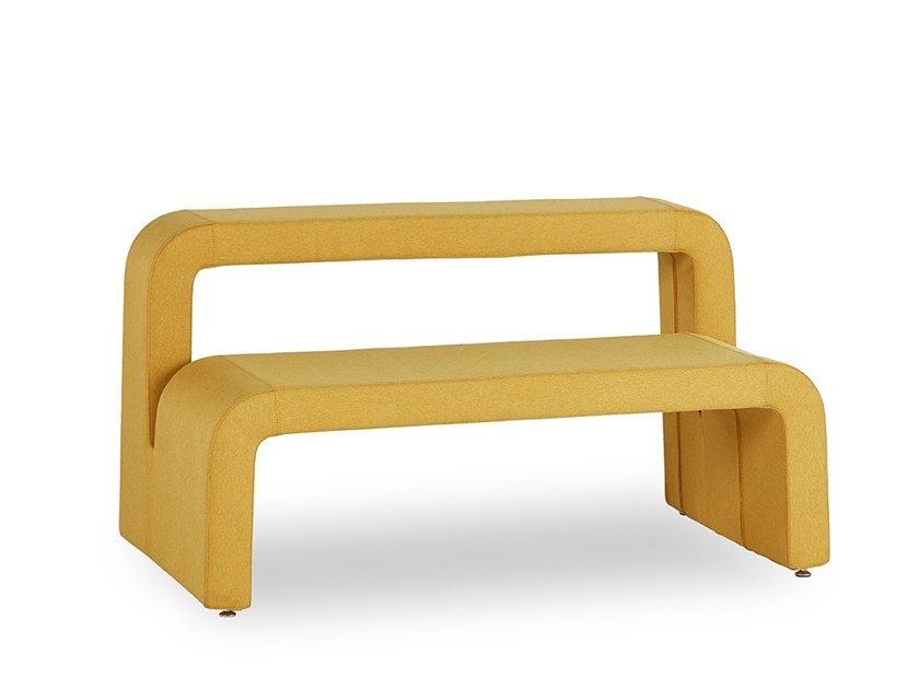 Bench seating with back MOBY | Bench seating with back by B&T Design