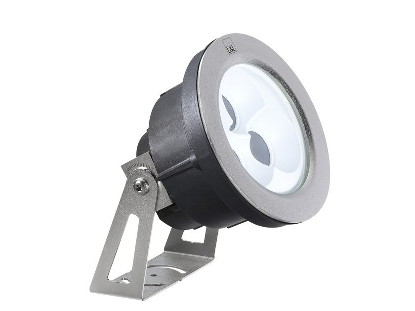 Outdoor floodlight / underwater lamp Moby P 2.0 by L&L Luce&Light