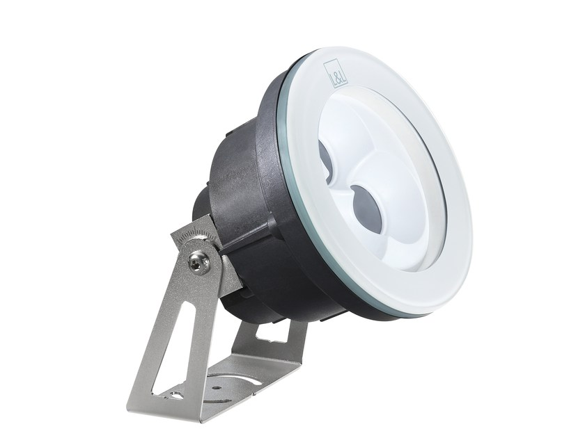 Outdoor floodlight / underwater lamp Moby P 2.1 by L&L Luce&Light