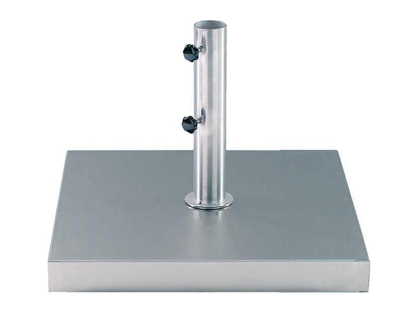 Base per ombrellone in acciaio inox MOBY by ROYAL BOTANIA
