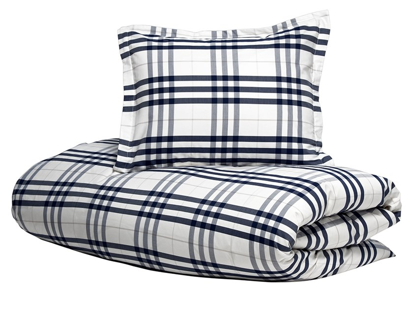 Bedding set MODERN CHECK | Bedding set by Hästens