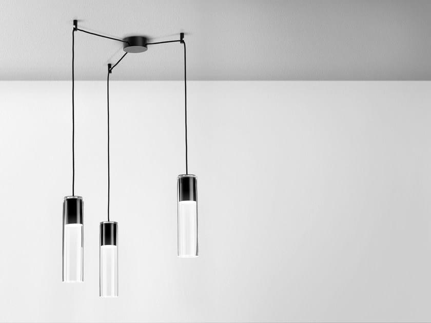 modern glass pendant lighting. LED Glass Pendant Lamp MODERN GLASS TUBE | By AQForm Modern Lighting