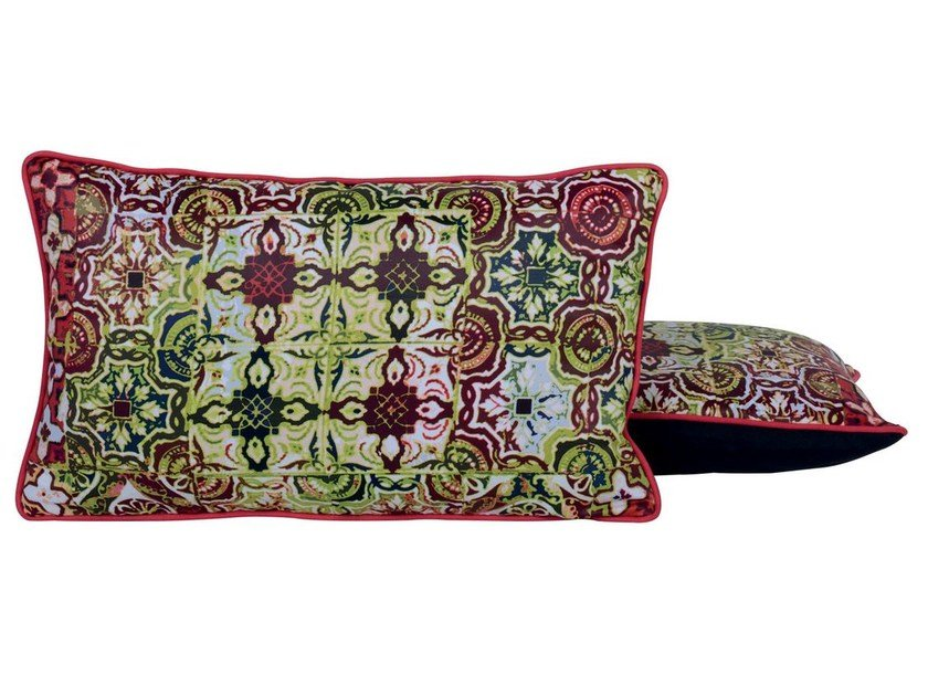 Rectangular sofa cushion MODESTE by LELIEVRE