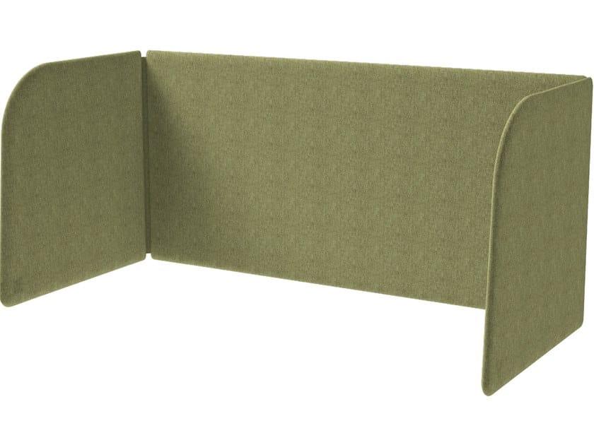 Pannello divisorio da scrivania in tessuto MODO DESK by Grado Design