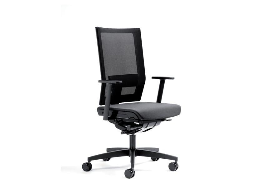 Sedia ufficio operativa girevole in rete MODO | Sedia ufficio operativa in rete by ESTEL GROUP