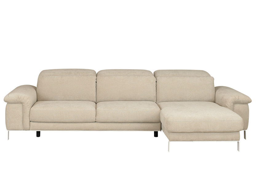 Fabric sofa with chaise longue MODULA | Sofa with chaise longue by GAUTIER FRANCE