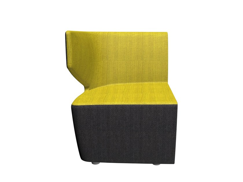 Modular fabric armchair CLUB | Modular armchair by LD Seating